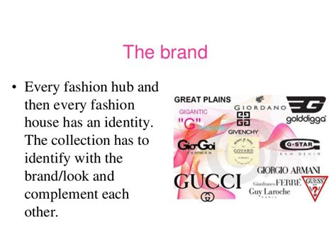 themes for brand names the beauty of fashion ppt
