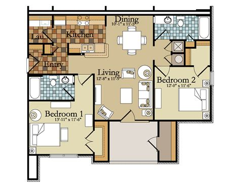 two bedroom house plans trends and floor for homes images