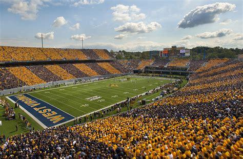 wvu student section college stadium review milan puskar stadium