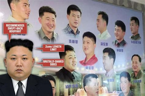 korea approved haircuts military approved haircuts for 9 strange laws in north korea that ll make you glad you re