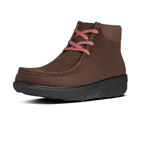 fitflop fitflop design chukkamoc chocolate brown suede