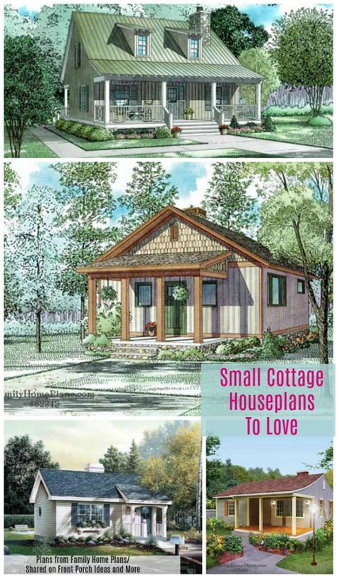 small cottages plans small cottage house plans with amazing porches