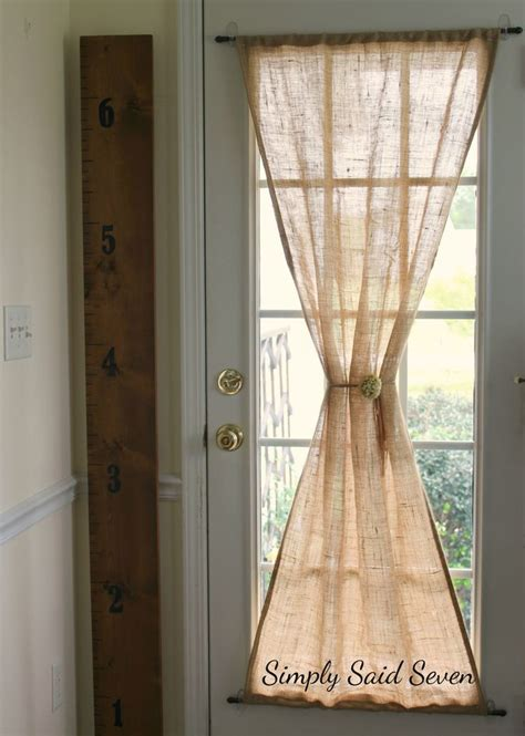 glass door curtain ideas best 25 door curtains ideas on pinterest door window