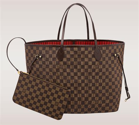 Tas L V Neverfull Damier Size Large the ultimate bag guide the louis vuitton neverfull tote purseblog