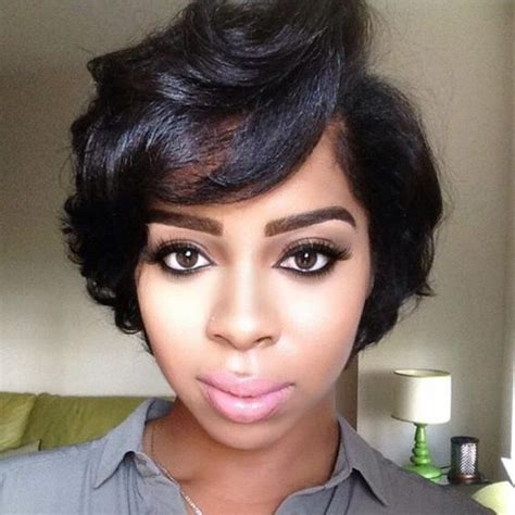 short haircuts for thick ethnic hair 50 african american short black hairstyles haircuts for