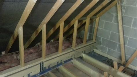 Attic Ceiling by Garage Loft Conversion In Bovey Tracey 5