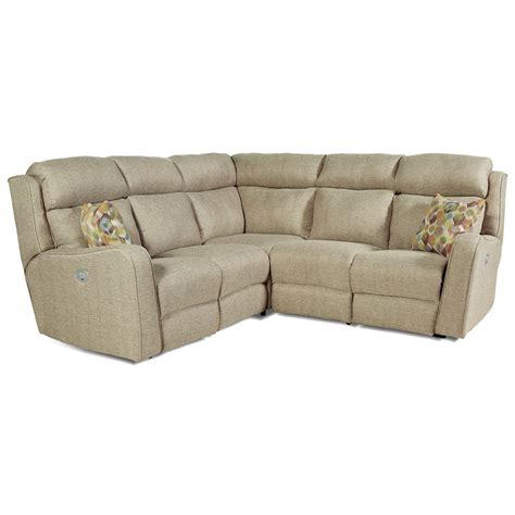 power reclining sectional sofa power reclining sectional sofa with 4 seats by southern