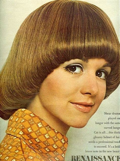 70s mushroom cut pageboy hairstyle english country cottage 2364756846