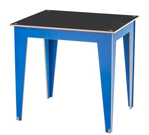 Box Panel Standar Uk 50 X 70 X 30cm kidiki children table board 50 x 60 cm h 56 cm top black legs blue by kirigami design