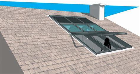 chiusura terrazza chiusura di una terrazza a vasca nella copertura casa luce