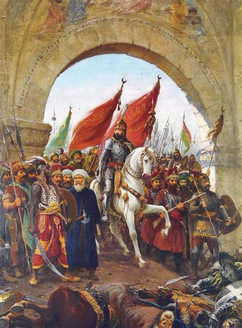 in 1453 the ottomans conquered which important christian city google images