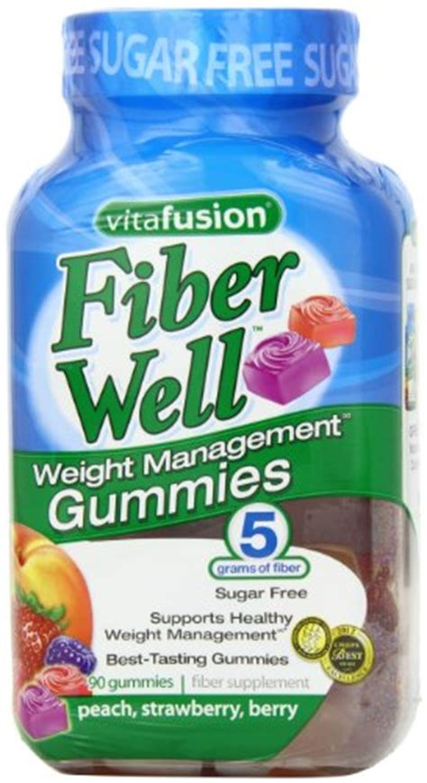Vitafusion Fiber Well Fit Gummies 90 Count vitafusion fiber well fit gummies 90 count new ebay