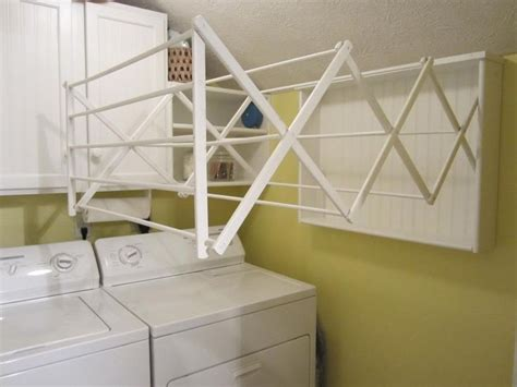 Diy Wall Mounted Drying Rack by Make Your Own Laundry Room Drying Rack Easy Diy Project