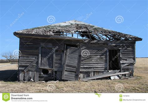ram shackle broken house stock image image of house land home
