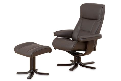 nordic recliner nordic 21 recliner ottoman fabric or leather furniture