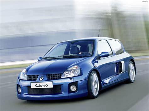 clio renault 2003 renault clio v6 sport 2003 auta na plochu tapety na