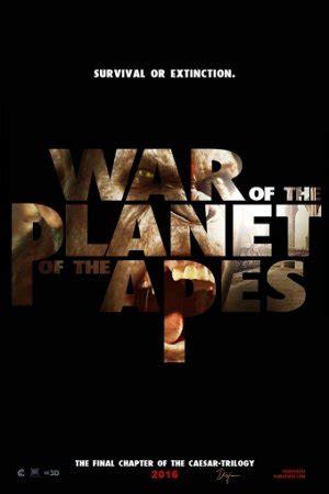 filme schauen war for the planet of the apes planet der affen survival film 2017