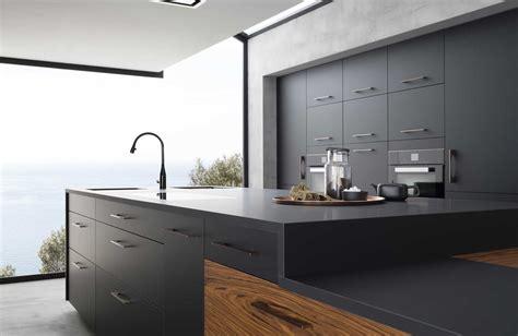 cuisine mat cuisine b600h placage palissandre v200 verni noir mat