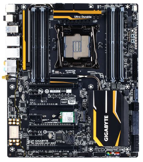 gigabyte x99 ud7 wifi motherboard and core i7 5960x gigabyte x99 motherboards launched ga x99 soc force ga