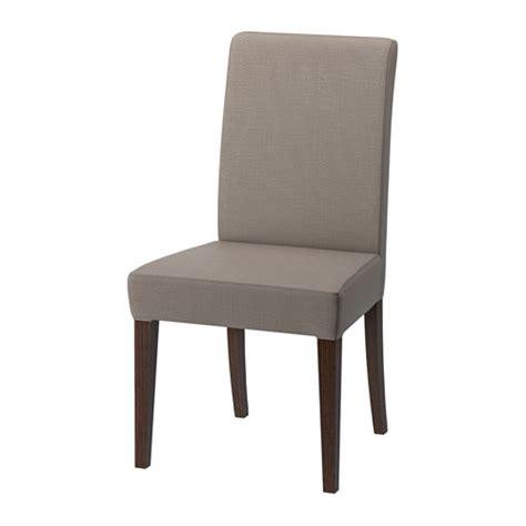 henriksdal chaise nolhaga gris beige ikea