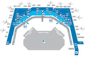 dallas international airport terminal map pictures to pin
