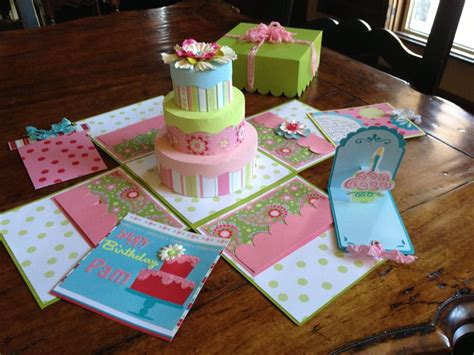 explosion box birthday cake tutorial 17 best images about exploding box on pinterest