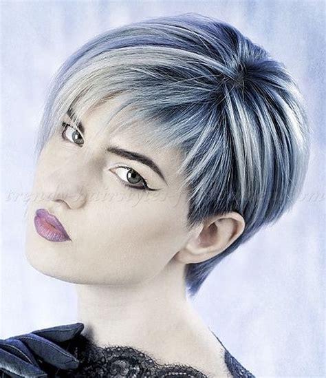 short fringe towards the face haircuts short hairstyles with long bangs short hair long fringe