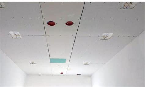 impianto radiante a soffitto impianto parete soffitto in cartongesso