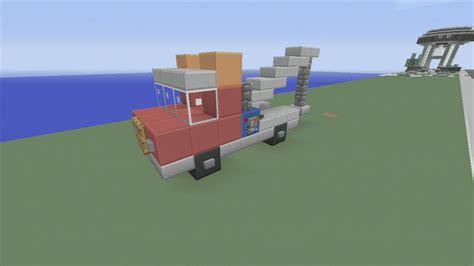 minecraft semi truck spanklechank s minecraft tutorials how to make a tow