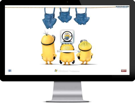 Themes Windows 10 Minions | minions theme windows 7 theme
