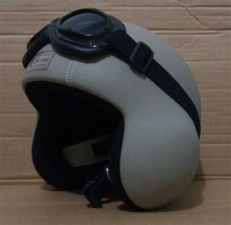 Kyt Elsico Klasik helm kulit klasik model pilot mantap gan lek ono