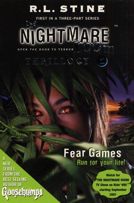 the nightmare room the nightmare room thrillogy 1 fear r l stine e book