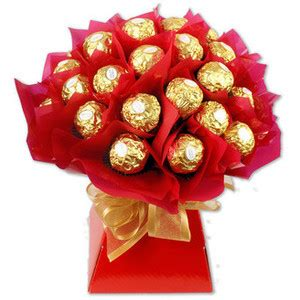 Tree Branch Home Decor by Ferrero Rocher Chocolate Bouquet Occasions Chocolate