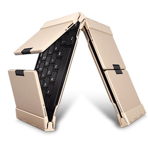 Hb066 Universal Portable Mini Wireless Foldable Bluetooth Keyboard B