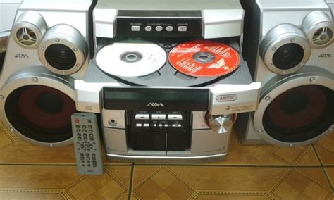 aiwa aiwa mp aiwa jax n3 mini system with mp3 playback for sale in new