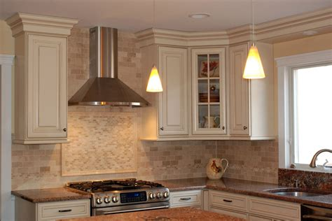 Crown Molding Ideas For Kitchen Cabinets stylish waypoint cabinets look philadelphia traditional