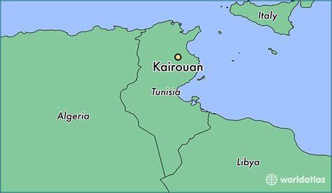 kairouan map where is kairouan tunisia where is kairouan tunisia