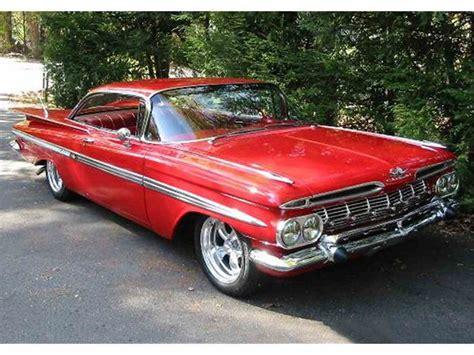 1959 chevrolet for sale 1959 chevrolet impala for sale classiccars cc 993947
