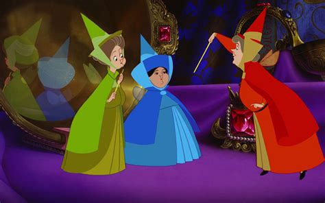 sleeping beauty wikipedia younger version of flora fauna and merryweather the