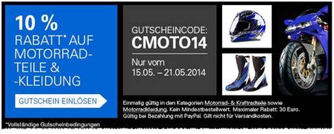 Ebay 10 Prozent Motorrad by Ebay Gutschein 20 Rabatt Im Engelhorn Ebay Shop