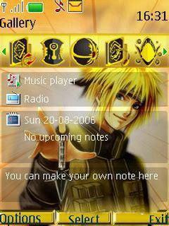 themes naruto untuk nokia download naruto nokia s40 theme nokia theme mobile toones