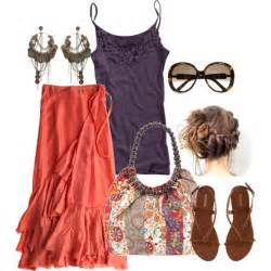 Outfit ideas for teens boho style pink dresses and cute outfit ideas