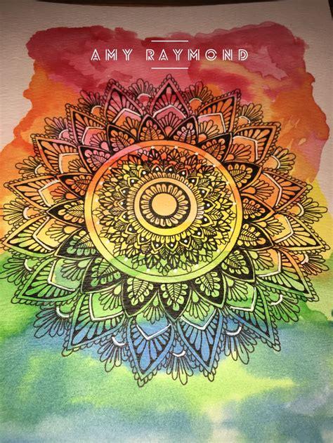 watercolor mandala tutorial best 25 watercolor beginner ideas on pinterest