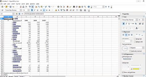 Open Office Spreadsheet by Best Free Web Scraper Software For Windows