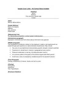 Cover Letter No Contact Name by Cover Letter Heading Exles Bbq Grill Recipes