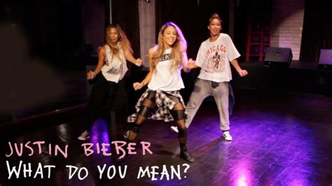 tutorial dance justin bieber justin bieber what do you mean dance tutorial youtube