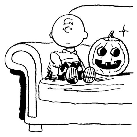 halloween coloring pages charlie brown charlie brown coloring page halloween pinterest