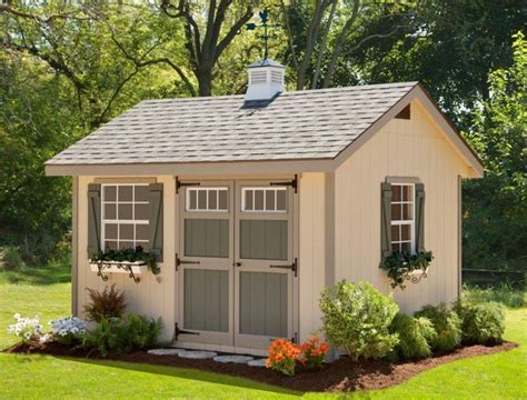 heritage storage diy shed kit  dutchcrafters amish