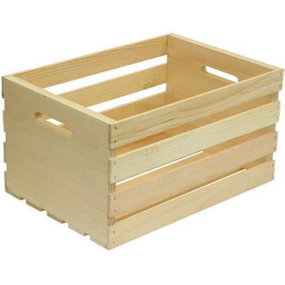 walmart crates houseworks ltd large wood storage crate walmart