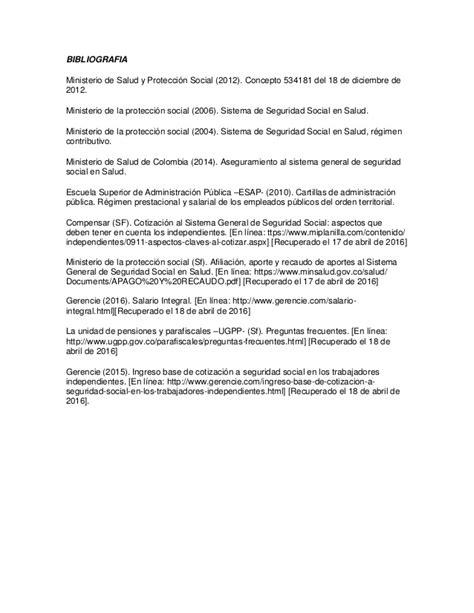 aportes seguridad social colombia 2016 2016 aportes a seguridad social en colombia actividad